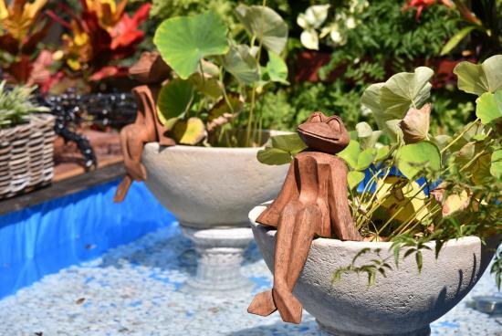 バリのリゾートをイメージ☆南国風のテラス…