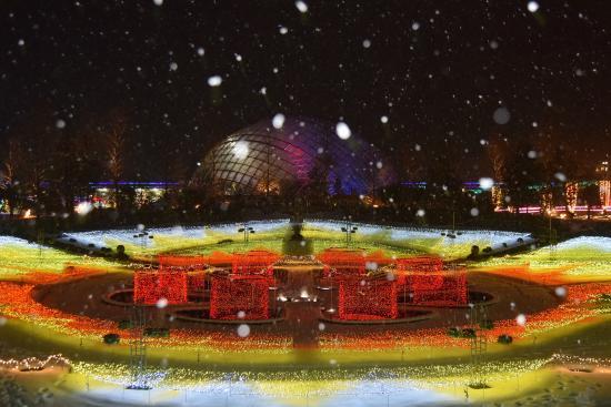 幻想的な雪の夜☆『四代目Beauty F…