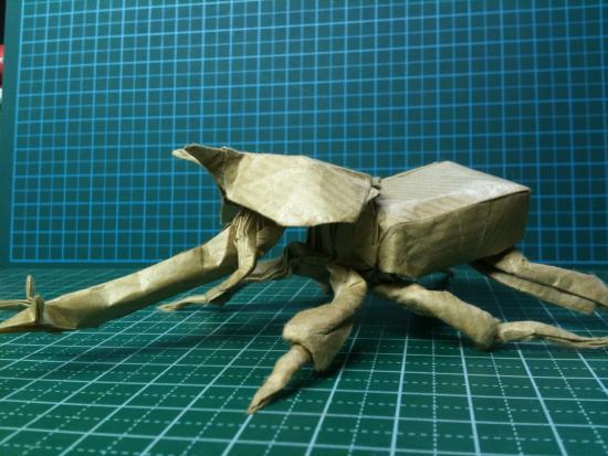 すべての折り紙 上級折り紙 : ... より立体的で複雑な折り紙を