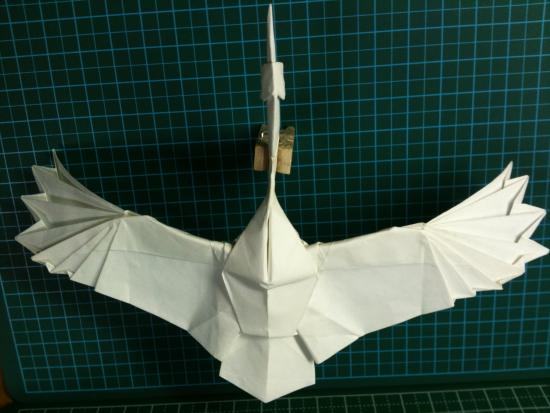 すべての折り紙 上級者 折り紙 : 鶴 上級者向け折り紙