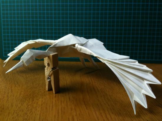 すべての折り紙 上級者 折り紙 : 細かい作業が必要ですが、折り ...
