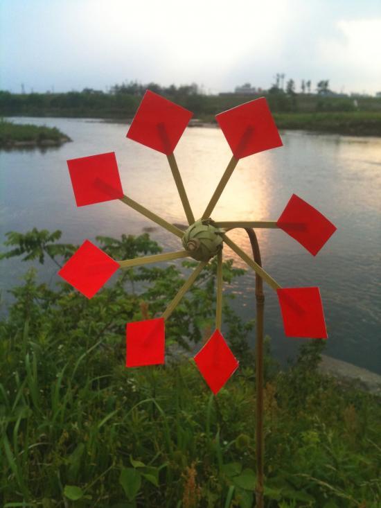 すべての折り紙 折り紙 風車 作り方 : 風車の作り方・かざぐるまの ...