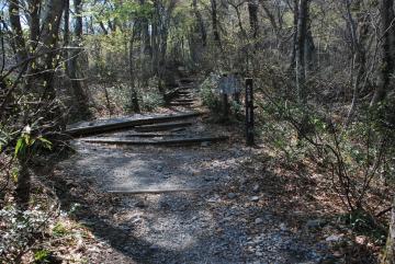 4月23日(木)夏山登山道の様子