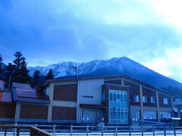 初冠雪の翌日(11/26)