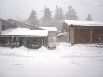1/15(日)大山に待望の雪が降りました…