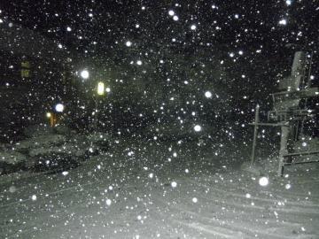 そこは雪国???